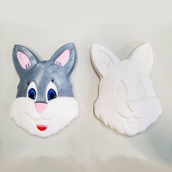 Bunny Face Plaster Paint Kit