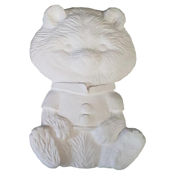 Plaster Paint Teddy Bear