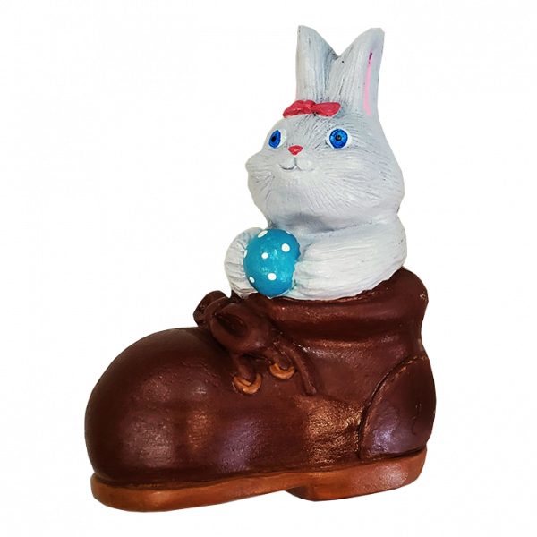 Bunny in Shoe Plaster Paint Kit