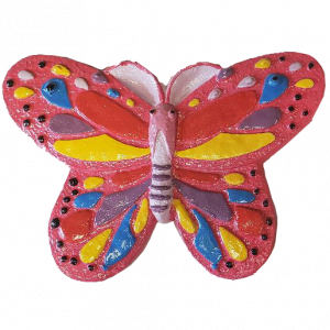 Butterfly Plaster Painted