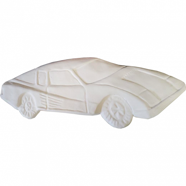 Plaster Paint Car
