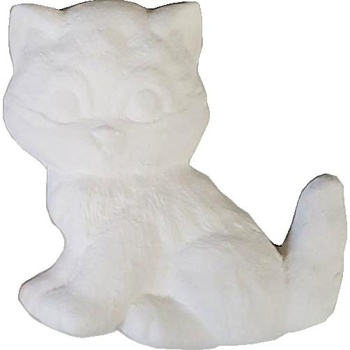 Plaster Paint Kitty Cat