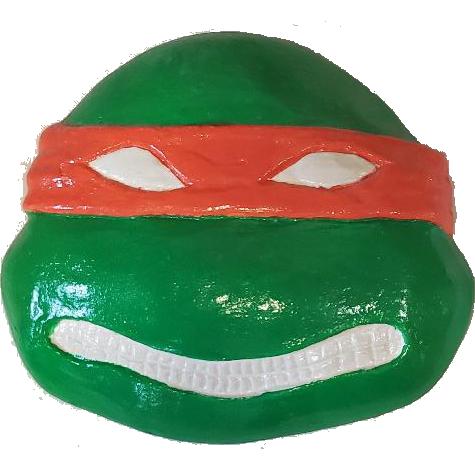 Turtle Plaster Painted