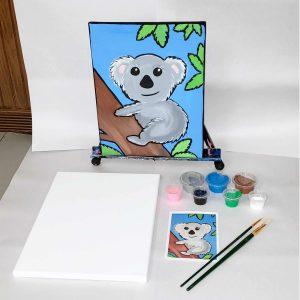 Koala Bear Canvas Paint Art Kit