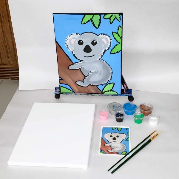 Koala Bear Canvas Paint Art Kit
