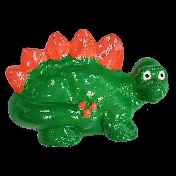 Stegosaurus Plaster Painted