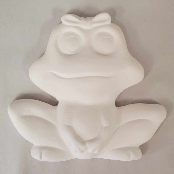 Plaster Paint Lady Frog