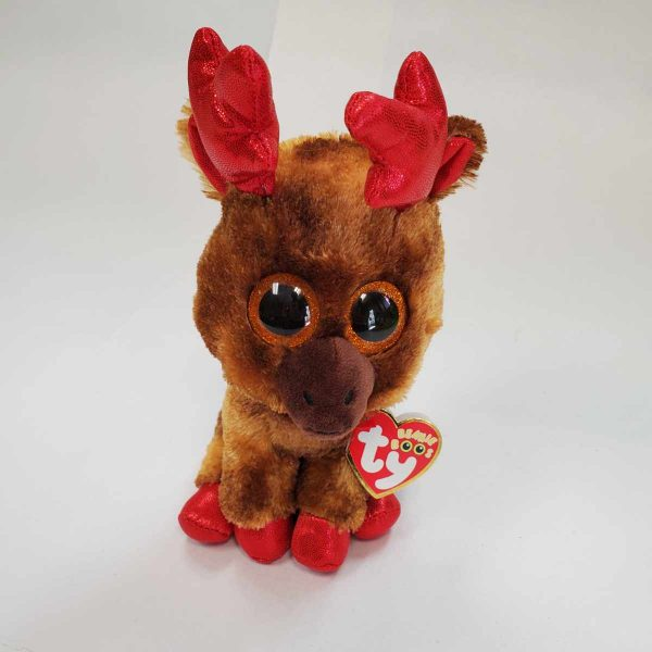 Ty Beanie Maple Christmas Deer