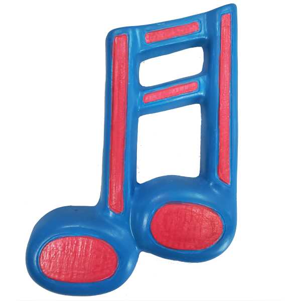 Music Note Plaster Painted