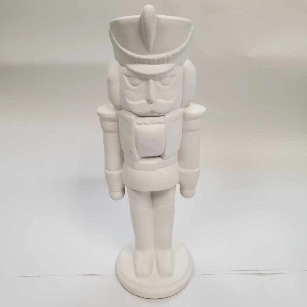 Plaster Paint Nutcracker Statue