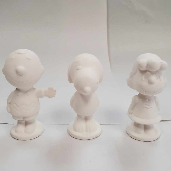 Plaster Paint Peanuts Figurines