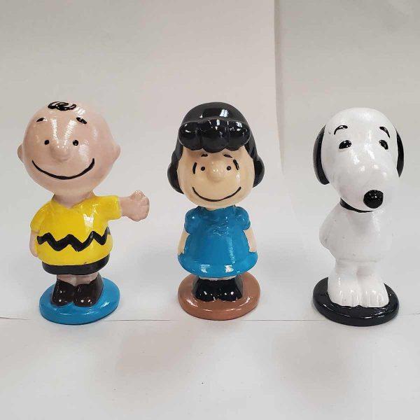 Peanuts Figurines Plaster Painted