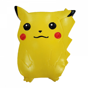 Picachu Plaster Painted