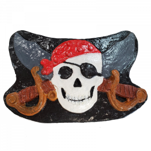 Pirate Plaster Painted