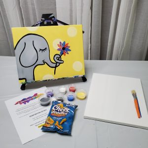 Elephant Canvas Paint kit