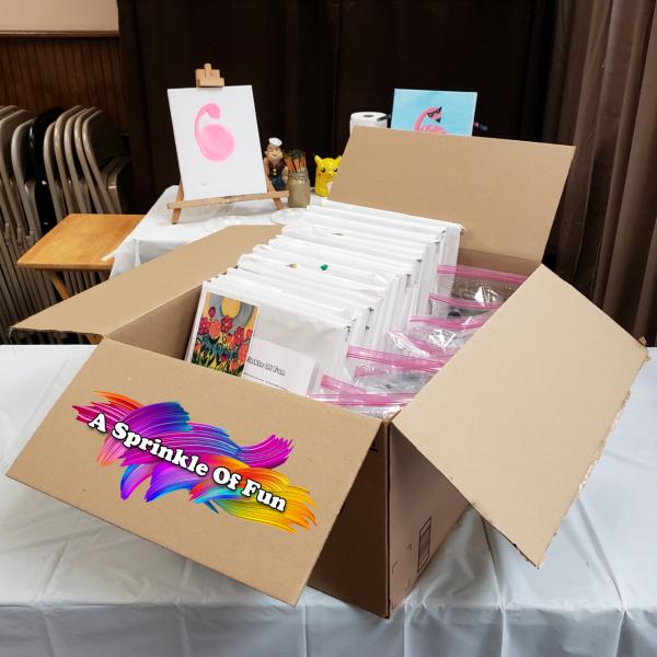 Virtual Party Supply Box