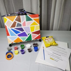 Mosaic Canvas Paint Art Kit