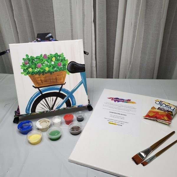 Bicycle Canvas Art Kit