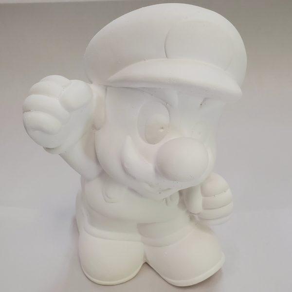 Plaster Paint Jumpman Statue