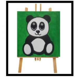 Panda Bear Canvas Art
