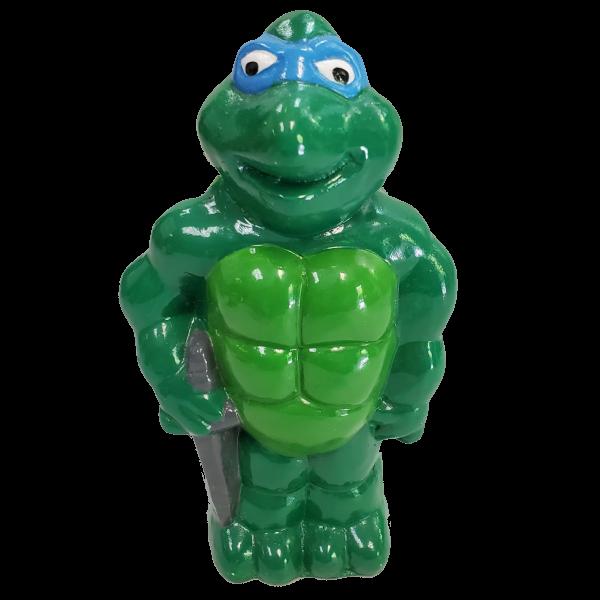 Turtle Statue Plaster Painted