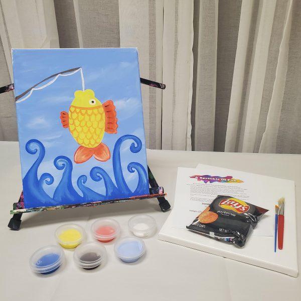 Fish Canvas Painting Kit