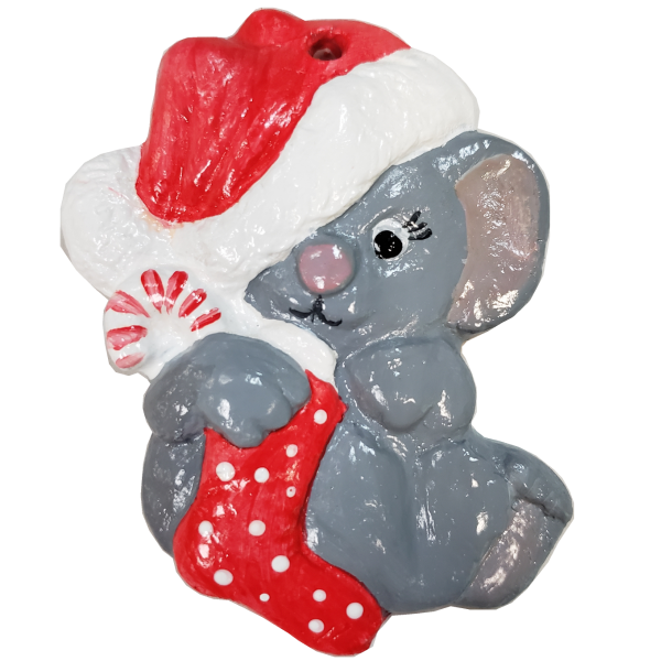 Mouse Christmas Ornament
