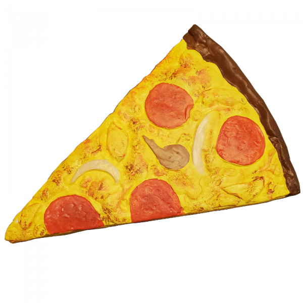 Pepperoni Pizza Plaster Painting Kit