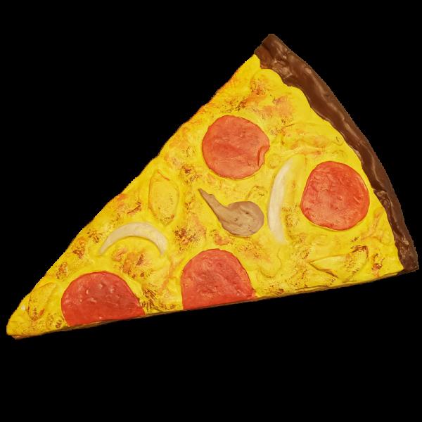 Pepperoni Pizza Plaster Painting Kit