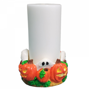 Halloween Candle & Holder
