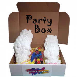 Plaster Party at Home Box