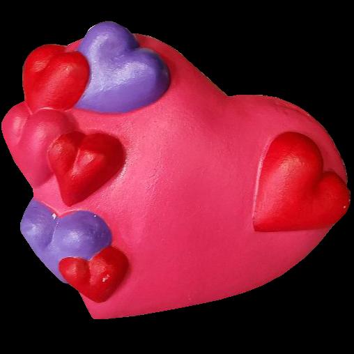 Valentine Heart Plaster Piece