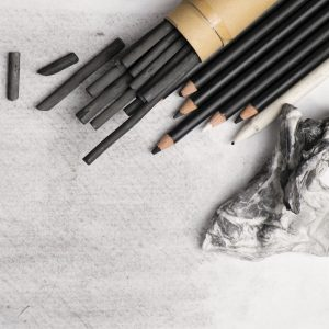 Charcoal Sketch Art Class