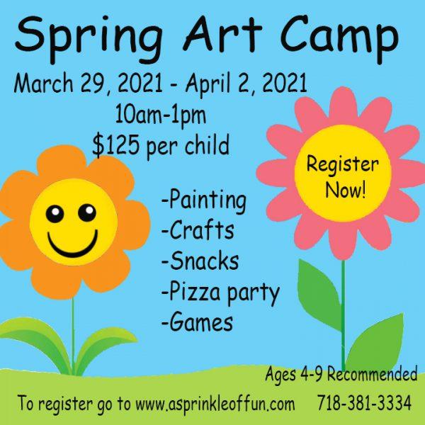Spring Break Art Camp