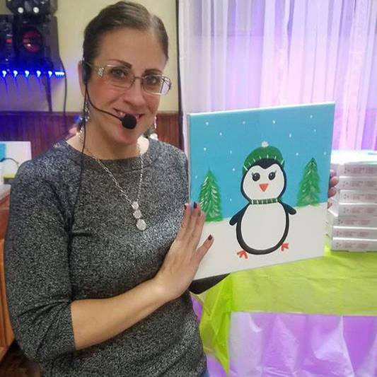 Canvas Painting Instructor